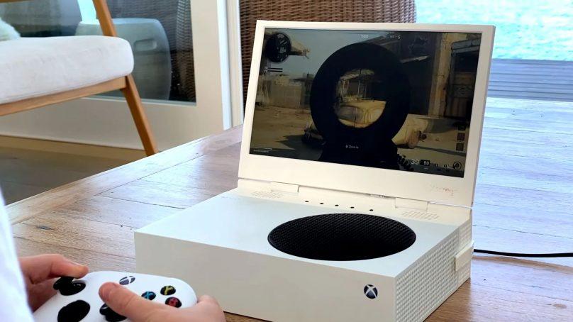 xScreen pretvara Xbox Series S u prijenosnu konzolu